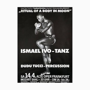 Poster Ismael Ivo, Ritual of a Body in Moon, 1980s