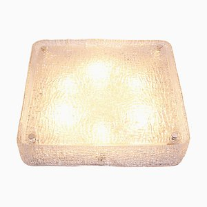 Large Square Ceiling Light in Murano Glass, 1960s, Germany