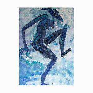 Ingrid Stolzenberg, Female Chimera, German Post Expressionism Painting