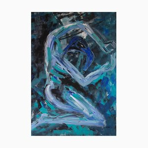 Ingrid Stolzenberg, Male Chimera, German Post Expressionism Painting