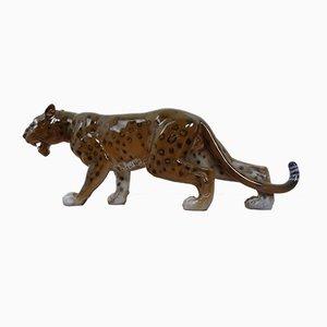 Porzellan 5311 Leopard von Aldo Falchi für Rosenthal, 1960er
