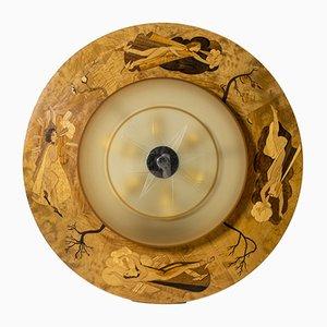 Deckenlampe von Birger Ekman