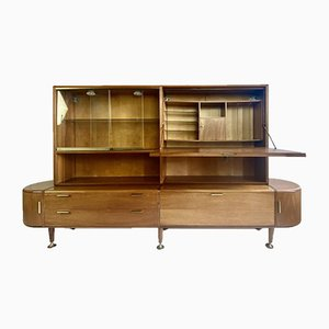 Patijn Sideboard with Desk for Zijlstra Joure, 1950s