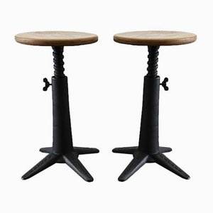 Antique Stool from Singer