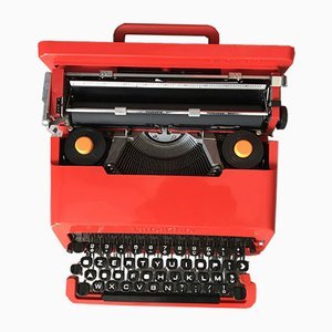 Valentine Typewriter by Ettore Sottsass for Olivetti, Italy, 1969