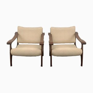 D741 Lounge Chairs, Set of 2