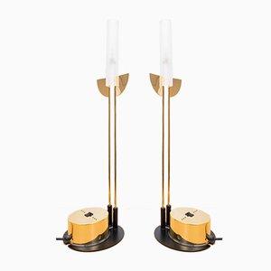 Postmoderne Tischlampen von Giorgetti, Italien, 1980er, 2er Set