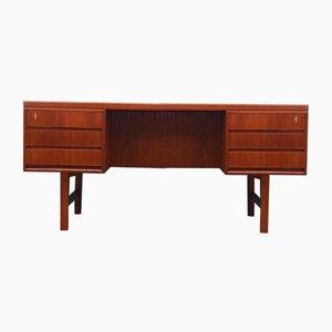 Teak Schreibtisch von Omann Jun, Dänemark, 1960er