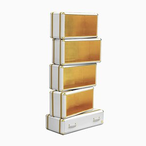 Gold Fantasy Air Bookcase from Covet Paris