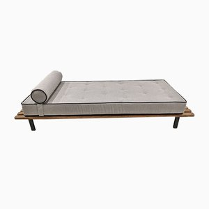 Cansado Bench with Mattress and Pillow by Charlotte Perriand for Steph Simon
