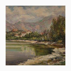 Italian Painting, Avigliana Lake, 1948