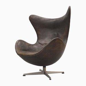 Egg chair 1st Edition di Arne Jacobsen per Fritz Hansen, anni '50