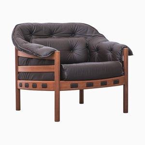 Leather Armchair by Sven Ellekaer for Coja