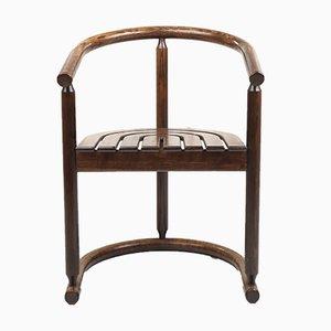Mid-Century Art Deco Chairs, Set of 4