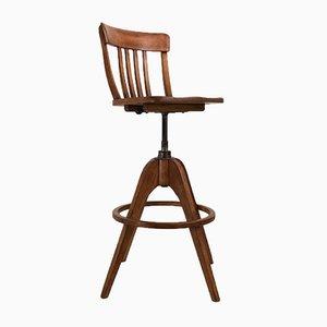 Chaise Haute Industrielle par A. Stoll