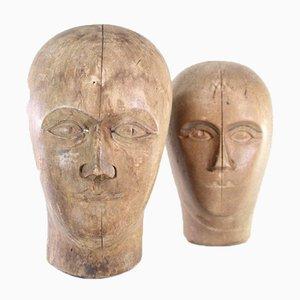 Perückenmacher Modell Kopf