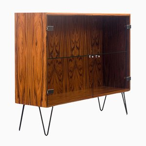 Showcase Cabinet in Rosewood, 1960s