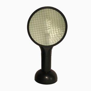 Black Drive Table Lamp by Adalberto Dal Lago for Bieffeplast-Francesconi