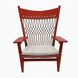 JH 719 Web Sessel von Hans Wegner, 2er Set