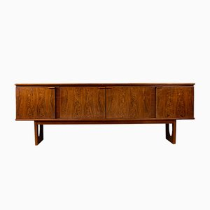 English Sideboard in Rosewood and Zebrano from Stonehill Stateroom, 1970s