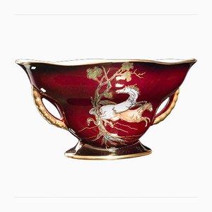 Vintage English Ceramic Fruit Bowl, 1950s