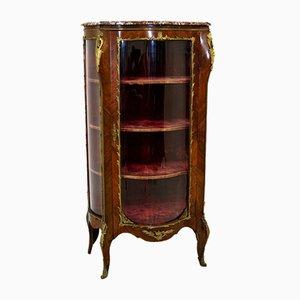 Showcase Cabinet in Walnut, France, 1845
