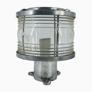 Lampe de Bateau Mât en Fonte d'Aluminium, 1950s