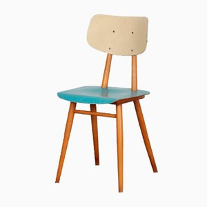 Vintage Wooden Chair by TON, 1960s