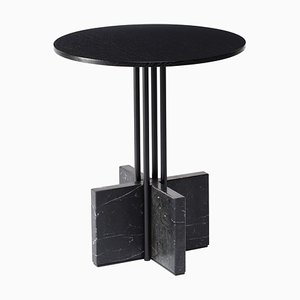 Gravity Side Table in Nero Marquina by Hanne Willmann for Favius