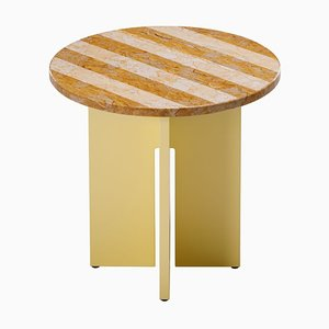 Sediment Table in Giallo Reale by Studio Besau-Marguerre for Favius