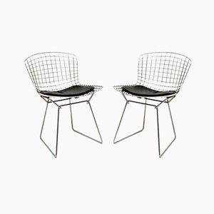 Chaises Wire Vintage par Harry Bertoia, Set de 2