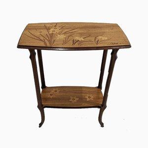 Intarsie Tisch von Emile Gallé
