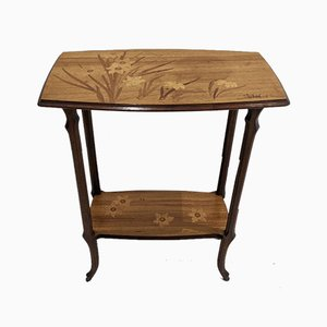 Marquetry Table by Emile Gallé