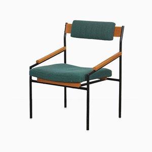 Tschechoslowakischer Vintage Metall Stuhl, 1970er