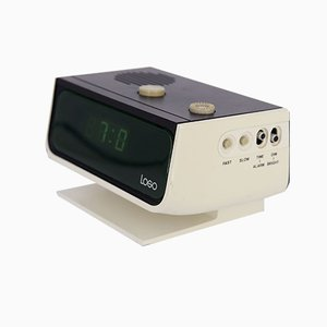 Vintage Space Age Digital Alarm Clock, 1970s