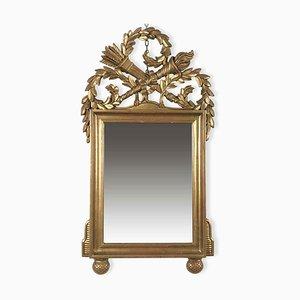 Empire Style Golden Mirror