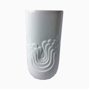Vintage White Porcelain Vase from Thomas, 1970s