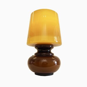 Lampe de Bureau en Verre de Veart, 1970s