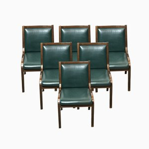 Italian Cavour Dining Chairs by Frau, 1960s, Set of 6