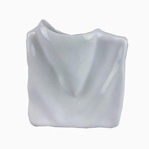 White Porcelain Vase from Eschenbach, 1980s