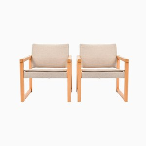 Diana Safari Chairs by Karin Mobring, Set of 2
