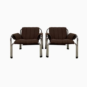 Model T2403 Armchairs by William Chlebo, Set of 2