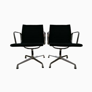 Aluminium EA 108 Chair by Charles & Ray Eames for Vitra, Set of 2
