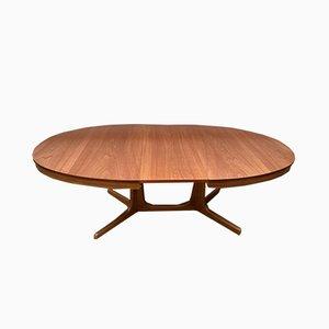 Scandinavian Teak Dining Table, 1960s