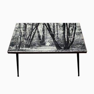 Vintage Silkscreen Table