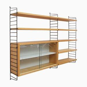 Ash Showcase Shelves by Kajsa & Nils Nisse Strinning for String, 1960s