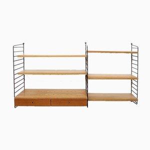 Ash Shelves by Kajsa & Nils Nisse Strinning for String, 1960s