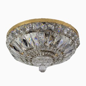 Crystal and Glass Ceiling Lamp