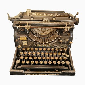 Vintage Typewriter from Underwood, 1920