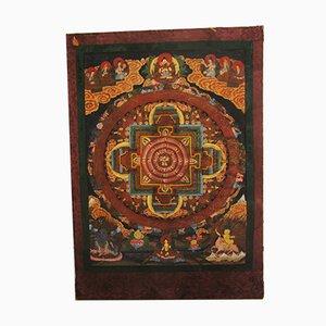 Buddhist Tanka Tapestry